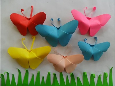 How to make Paper Butterfly at home