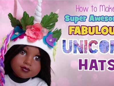 How to Make Super Awesome Fabulous Unicorn Hats + GIVEAWAY WNNER | BlueprintDIY Kids