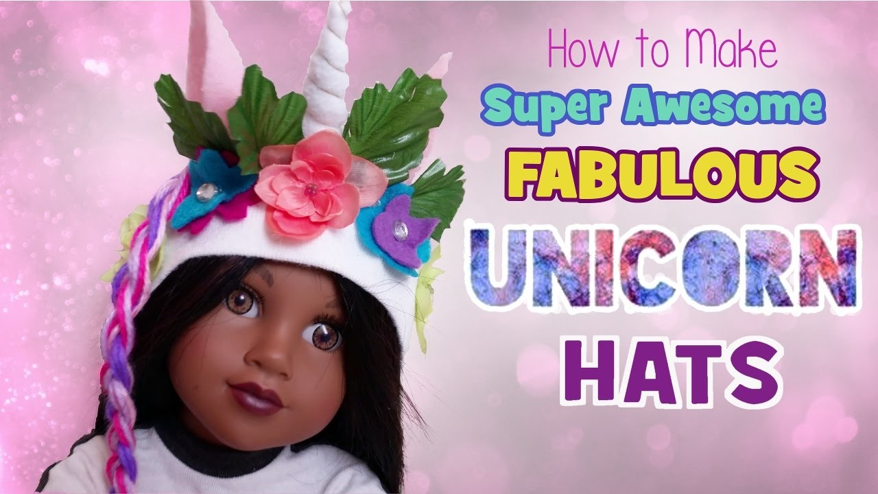 How to Make Super Awesome Fabulous Unicorn Hats + GIVEAWAY WNNER | BlueprintDIY Kids