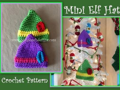 Mini Elf Hat Crochet Pattern