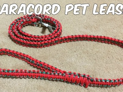 Paracord Leash - How to Make a Dog Leash out of Paracord