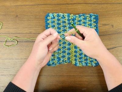 Red Heart Crochet Along: Around Town Ruana Week Four