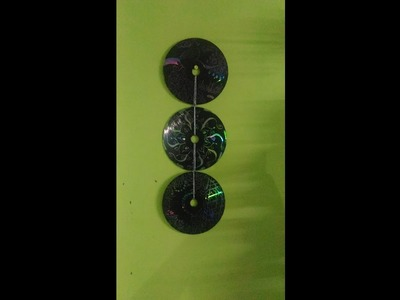 Wall hanging from old CDs - DIY- BEST OUT OF WASTE