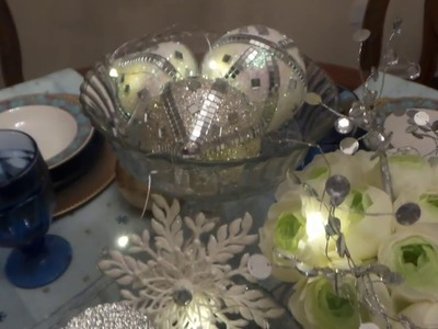 4 DIY Dollar Tree Winter Theme Decorations-  Quick and Easy