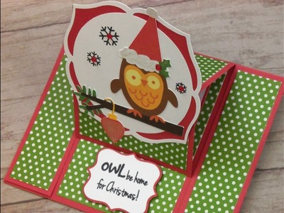 CARDZ TV 12 DAYS OF CHRISTMAS CARD FIVE 2016 ~ CENTER EASEL CARD