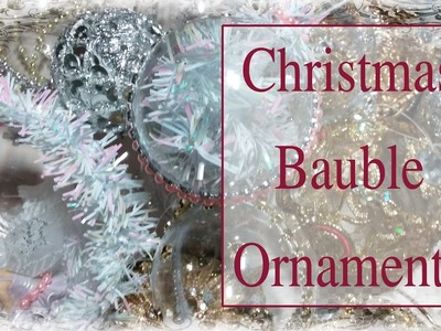 Christmas Bauble Ornaments