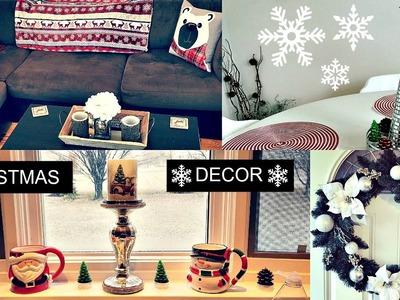 Christmas Decor Home Tour | 2016