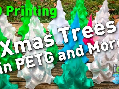 Christmas Tree 3D Printed in PETG and More