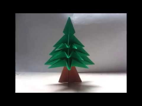 Christmas Tree Decorating - Snow Tree Origami