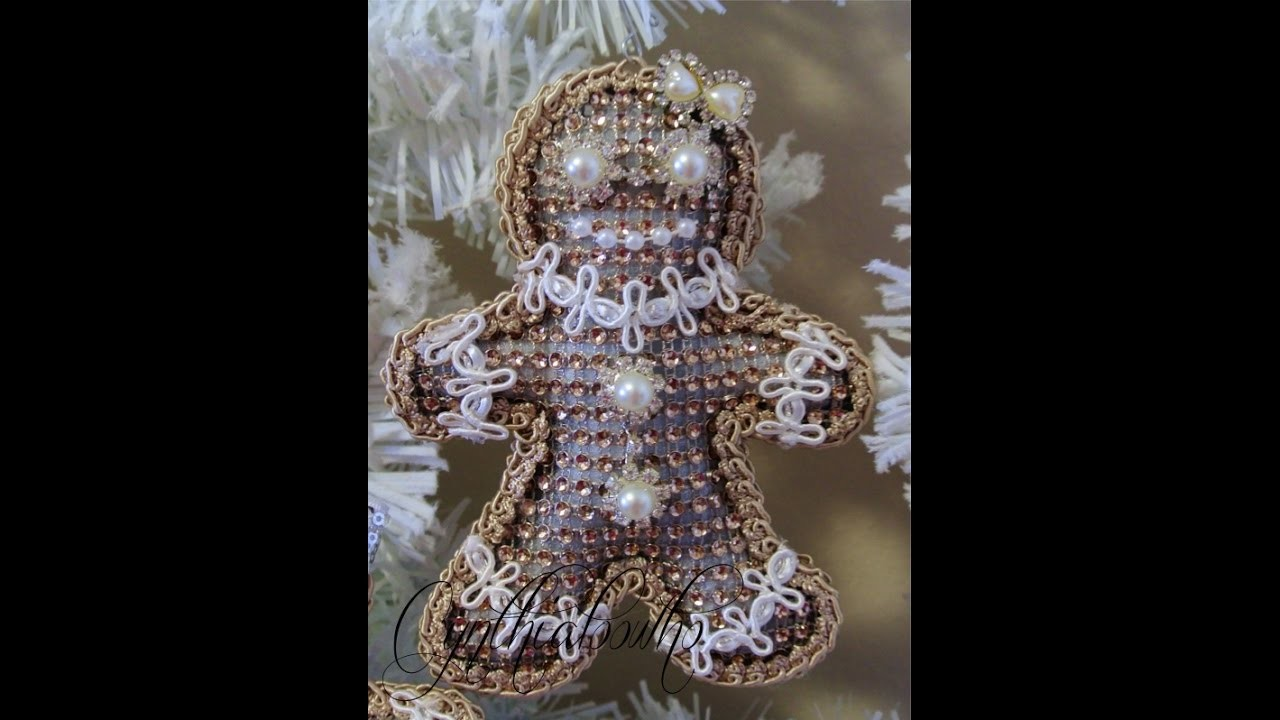 Day 4 of 10 Days of Christmas Ornaments with Cynthialoowho 2016