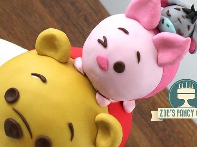 Disney Tsum Tsum cake: Winnie the Pooh, Piglet and Eeyore
