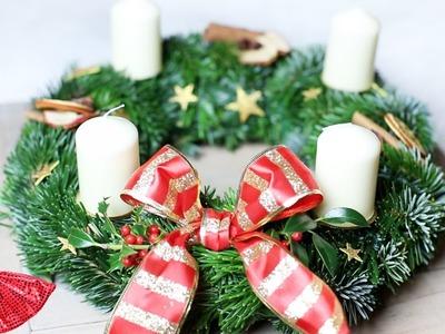 DIY Advent wreath | CHRISTMAS WITH ANY
