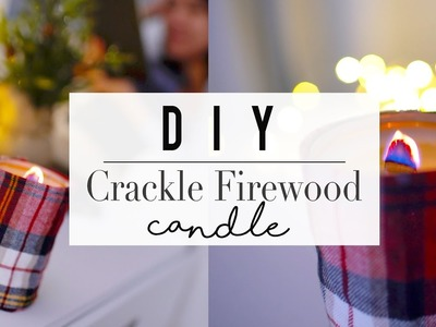 DIY Christmas Crackle Candle | ANN LE