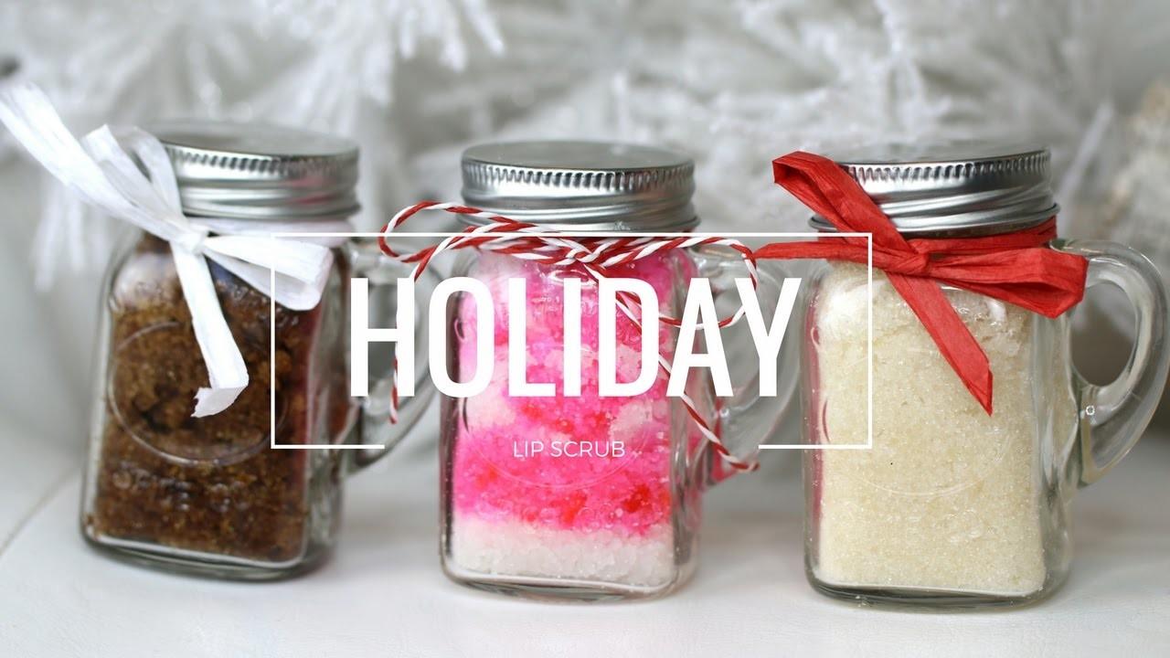 DIY Christmas + Holiday Inspired Lip Scrubs! UNDER $20 | Ab and Gab