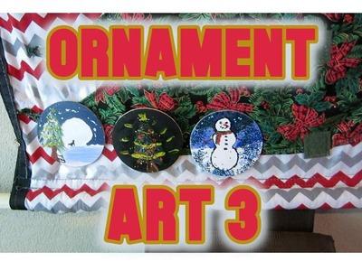 DIY CHRISTMAS ORNAMENT 3