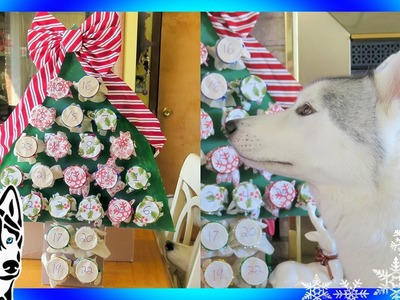 DIY DOG ADVENT CALENDAR 2016 for Christmas
