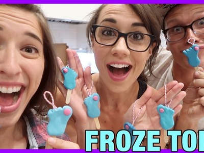 DIY Froze Toes Ornament!