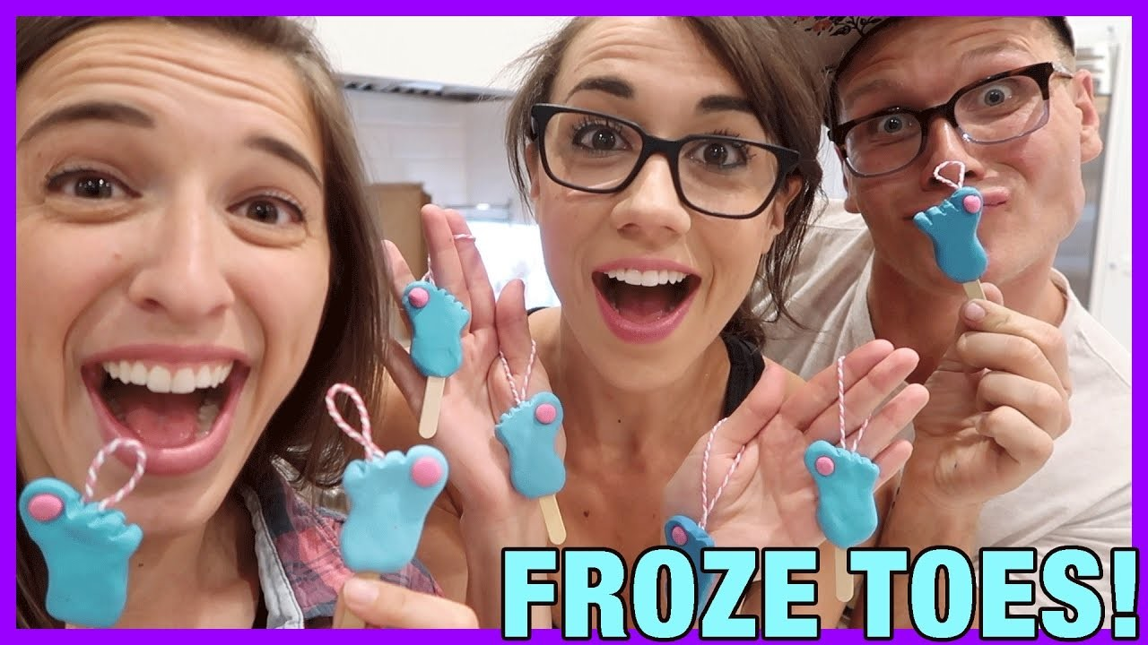 DIY Froze Toes Ornament!