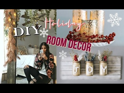 DIY Holiday + Christmas Room Decor