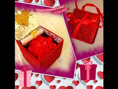 Diy valentine day surprise box for someone special