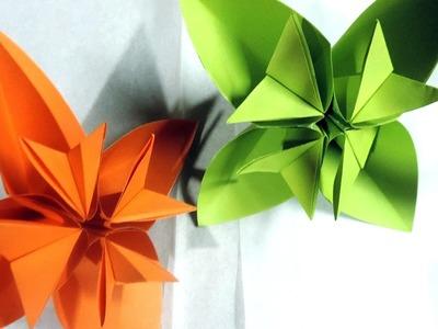 Kusudama the kusudama shop kusudama tutorial the kusudama shop easy origami kusudama flower folding instructions by mightylinksfo