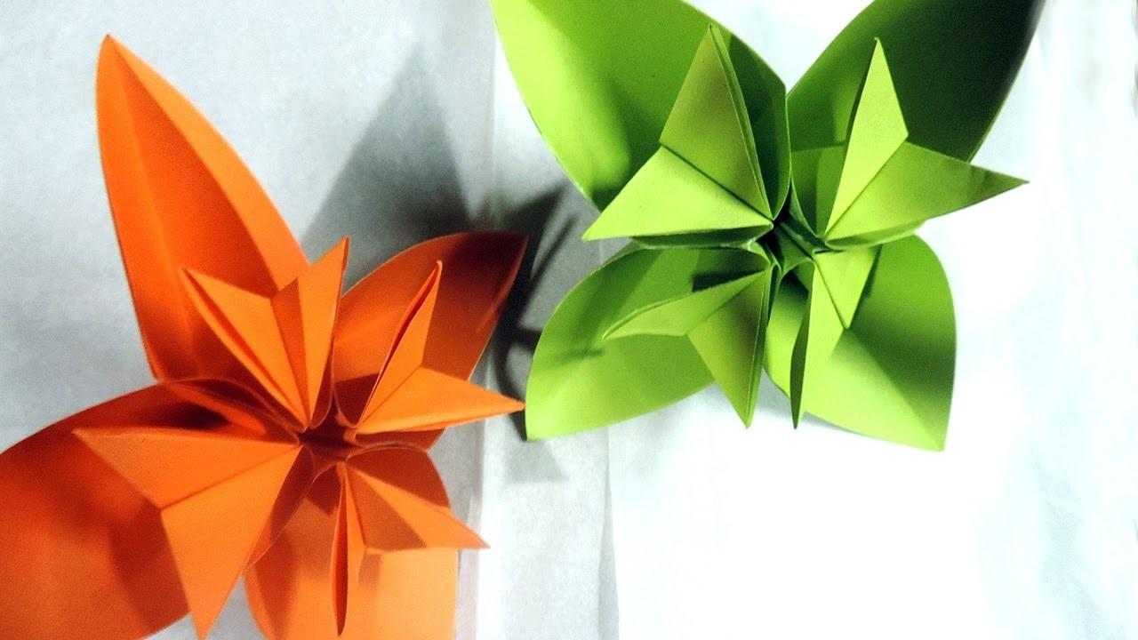 Easy Origami Kusudama Flower Folding Instructions By Decoration Idea