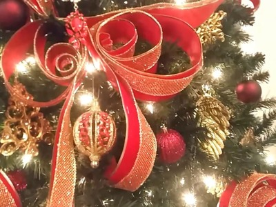 """""""Heaven on Earth"""" Christmas Tree Reveal 2016!!! + Adding a touch of elegance!!! (Pt.4)"""