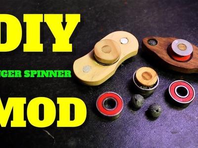 HOW TO MAKE YOUR FINGER.FIDGET SPINNER SPIN LONGER