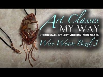 Intermediate Jewelry Smithing: Bezel Wire Weave 3 of 3