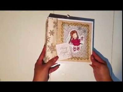Making a Christmas Mini Album - Part 1