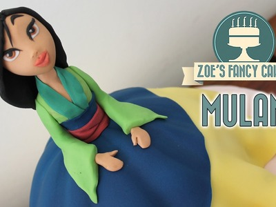 Mulan doll cake Disney princess cakes