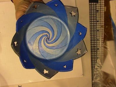 Polymer Clay Swirl Bowl Tutorial