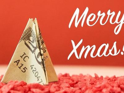 XMAS gift idea: Christmas tree out of money