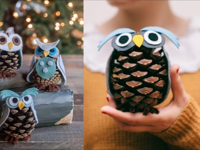 10 DIY Christmas Pine Cone Crafts