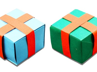 3D Origami Gift Box   Learn How To Make Origami Gift Box   Origami Tutorials   Art & Craft For Kids