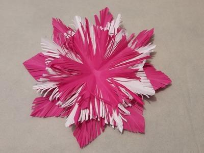 Kids, 3D Paper Snowflake Tutorial, 3D Paper Snowflake Tutorial