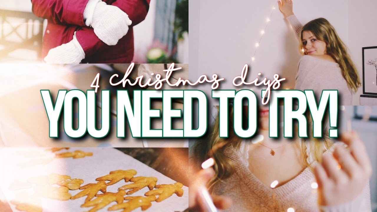4 CHRISTMAS & HOLIDAY DIY'S YOU NEED TO TRY 2016!