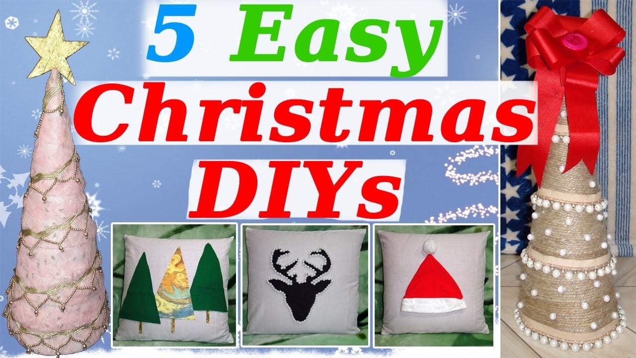 5 DIY Christmas Room Decor Ideas