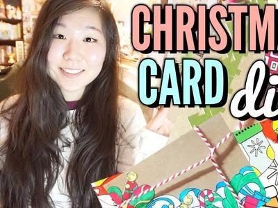 Christmas Card DIY ❖ Easy & Affordable