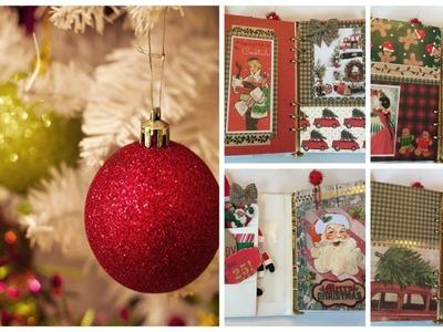 CHRISTMAS PLANNER DIY   Vintage Dividers