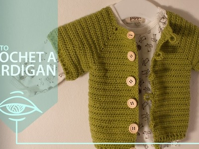 Crochet a cardigan | pattern and tutorial