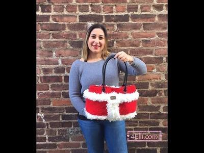 Crochet Santa Claus Bag Tutorial