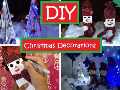 DIY Christmas Decorations Old CD and Empty box  #47