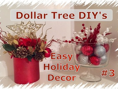DIY Dollar Tree Christmas Decor | Momma From Scratch