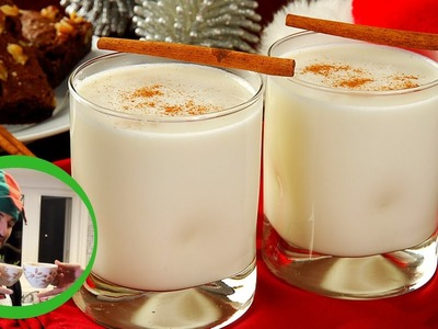 DIY EGGNOG WITH KAZZY!!