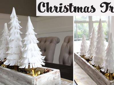 DIY Paper Crepe Christmas Trees - Arbolitos Navideños - Collab Carte Fini