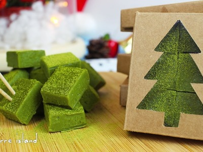 DIY Royce Matcha Nama Chocolate Gift Box | Christmas Countdown | d for delicious
