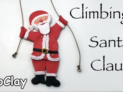DIY Santa Claus Climbing toy - Christmas crafts