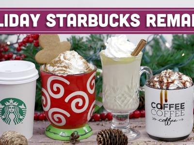 DIY Starbucks Holiday Remakes! Salted Caramel Mocha, Gingerbread Latte & More - Mind Over Munch