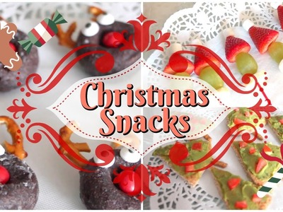 Easy DIY Holiday Snacks & Treats For Your Christmas Party! + Giveaway